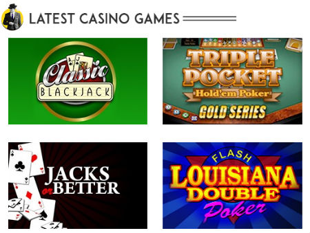 play top slots and casino table games
