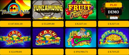 ProgressPlay Progressive Jackpot Games