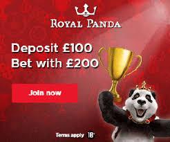 Royal Panda deposit match casino bonus