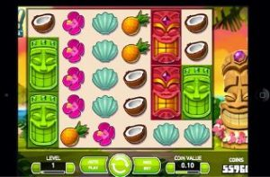 play aloha cluster pays with £5 free bonus