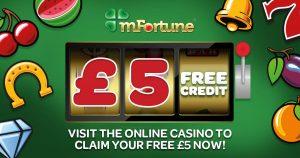 mfortune £5 Free Site Slots