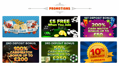 RiskFree spin promotion
